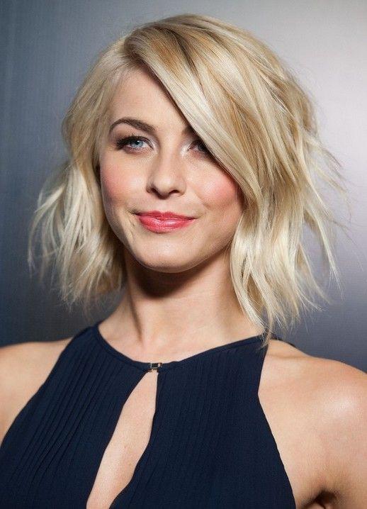 Peachy Julianne Hough Short Blonde And Wavy Hairstyles On Pinterest Short Hairstyles Gunalazisus