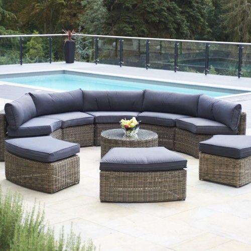 Newest No Cost Rattan Garden Furniture