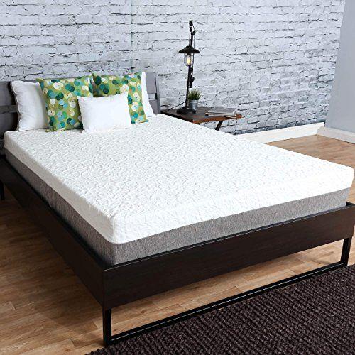 Somette Icon Sleep By Sommette 10 Inch Short Queen Size Gel Memory Foam Mattress Queen Memory Foam Mattress Foam Mattress Gel Memory Foam