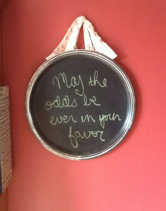 The Mad Recycler: Life on a Silver Platter - My Upcycled Chalkboard Platter
