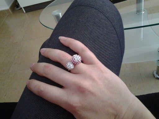Mi nuevo anillo! Love it!