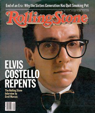 elvis costello 1982 rolling stone cover