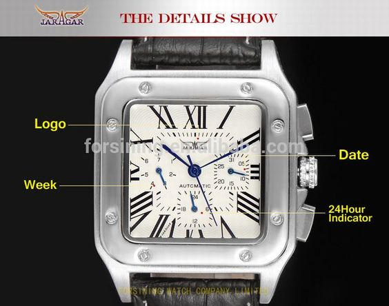 • the world s catalog of ideas jargar mens automatic watches men luxury brand genuine leather discount watches custom watches reloj forsining