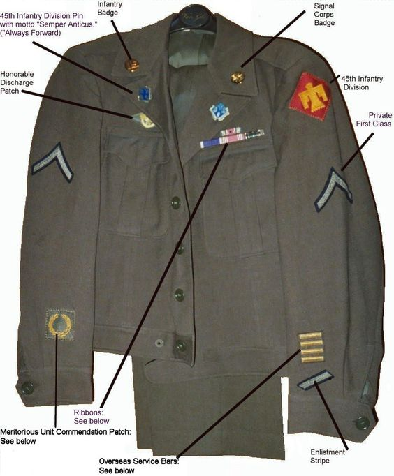 army class c uniform