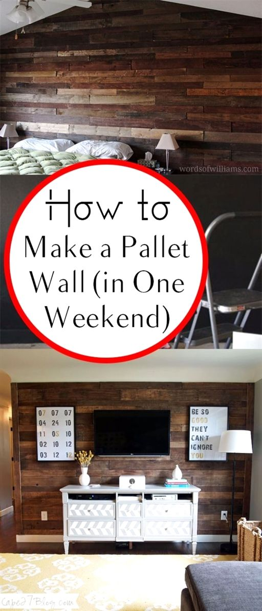 Mastering Home Improvement By Using Expert Advice Pallet Wall