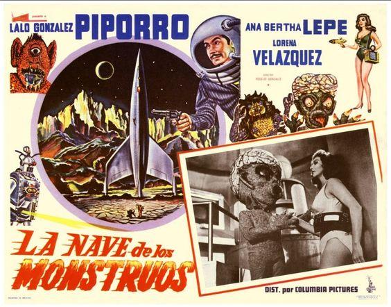 LA NAVE DE LOS MONSTRUOS (Rogelio A. González, 1959)