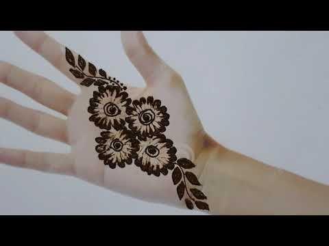 mehndi designs using buds