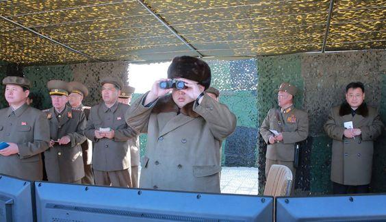 Mi blog de noticias: Corea del Norte ensaya con un cohete cargado de co...