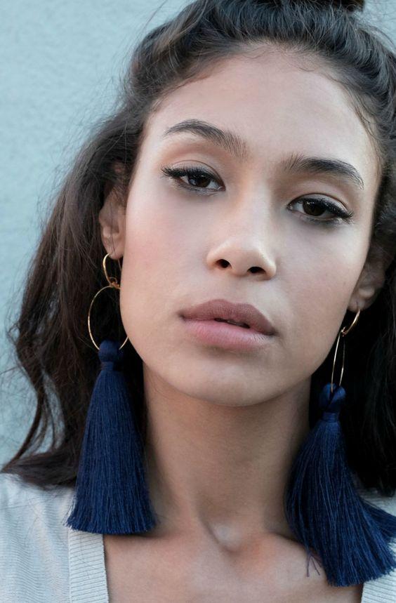 Trimble Tassel Earrings   HouseOfUrbanNYC on Etsy