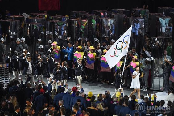 History in the making in Rio  'Team Refugees'  at the 2016 Olympic Games