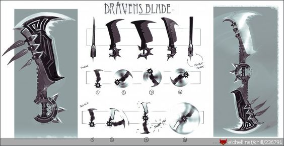 Draven's blades