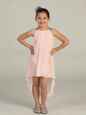 High-Low Hem Chiffon Dress. - New Arrivals - Pinterest - Colors ...