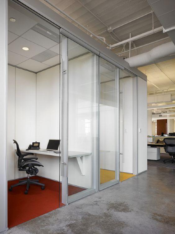 Interior Office Sliding Glass Doors mikes hard lemonade - eastlake studio - dirtt sliding doors