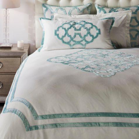 Chloe Bedding Celeste From Z Gallerie Affordable Modern Furniture Bedding Shop How To Make Bed