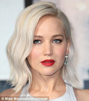 Ice queens: Platinum bobs are having a moment in Hollywood, with Jennifer Lawrence, 25, and Kristen Stewart, 26, both recently hitting the peroxide