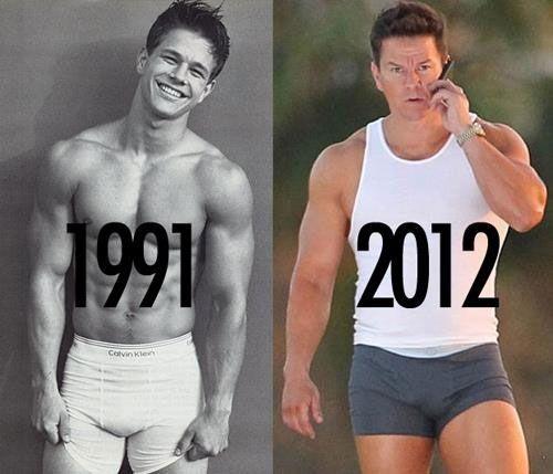 still sexy.. love Mark Wahlberg