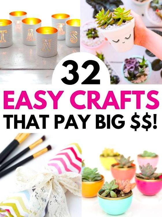 32 Hot Crafts To Sell For Profit For Adults Easter Crafts To