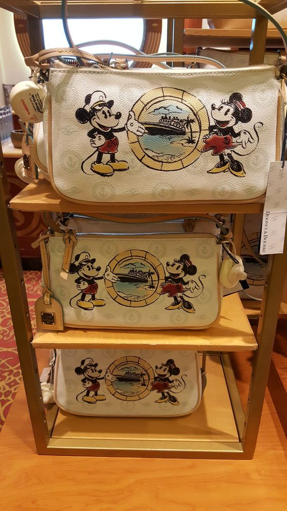 Rarely Seen Disney Cruise Line Dooney And Bourke Design Spotted