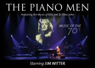 """The Piano Men"" - the music of Billy Joel and Elton John. Sat, Jan 12, 2013 at Horizon Stage."