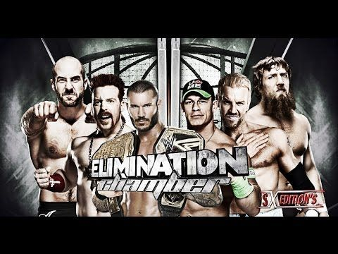 WWE Elimination Chamber 2014 Elimination Chamber Match