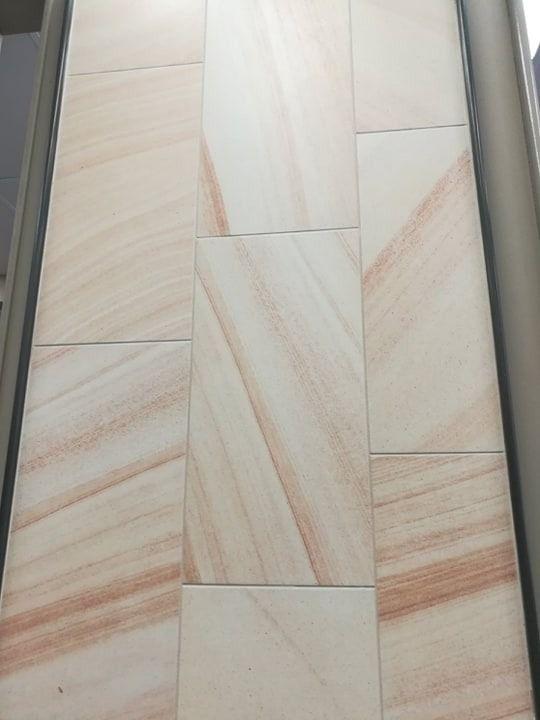 Sandstone Look Tiles Exterior Front Porch Affordable Tile