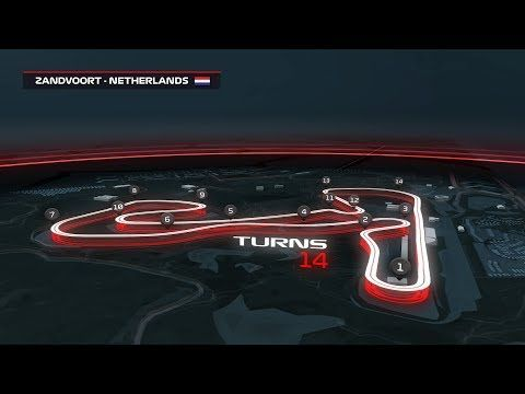Zandvoort 3d Circuit Guide Dutch Grand Prix Youtube Grand Prix Australian Grand Prix Grands