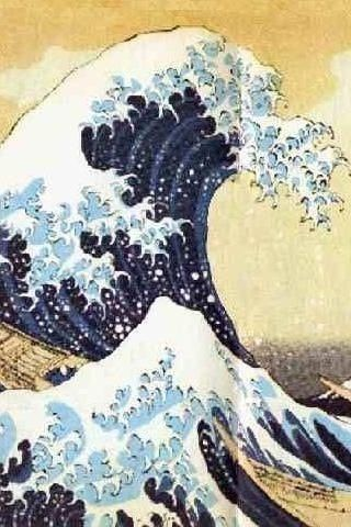 Japanese Wave   Happiness is The Ocean!   Pinterest   Japanese Waves ...