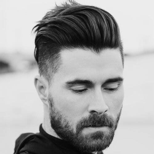 37 Best Slicked Back Undercut Hairstyles For Men 2020 Guide Hipster Hairstyles Thick Hair Styles Round Face Men