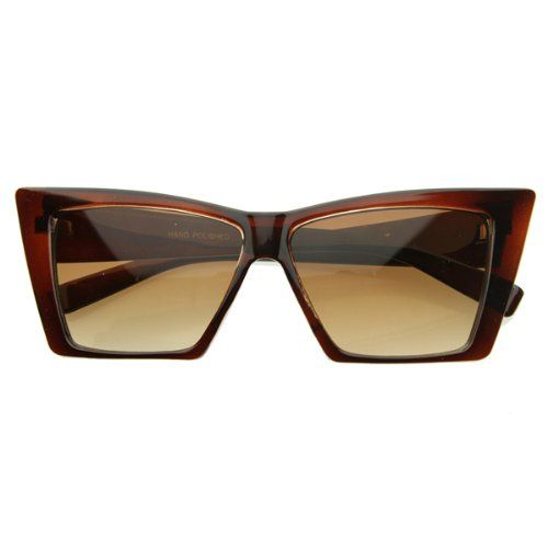 High Pointed Cat Eye Sunglasses Sharp Geometric Square Frame Cateyes - Listing price: $30.00 Now: $2.97 + Free Shipping