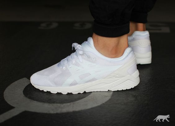 Asics Gel Kayano Evo White