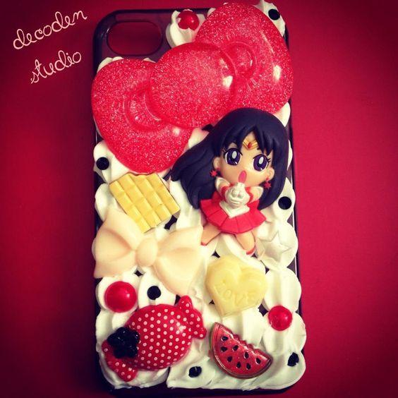 Handmade Sailor Mars Decoden Case