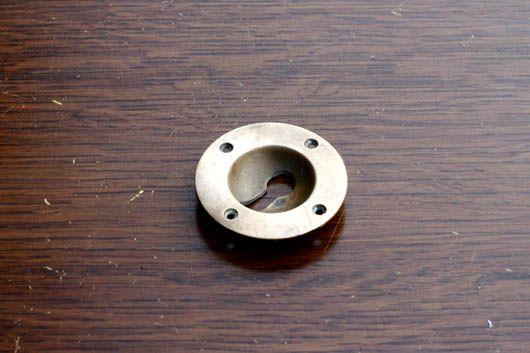 アンティーク 真鍮の鍵穴プレート 店舗ドアなどに Bkh1 複数在庫あり アンティーク オールディーズ オンラインストア オールディーズ プレート アンティーク