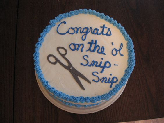 Image result for vasectomy cake