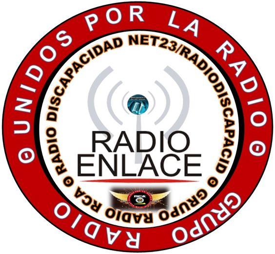 Logo del Radioenlace del Grupo Radio RCA y Radio Discapacidad Net23/RadioDiscapacid