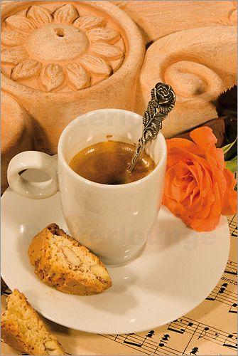 """Bild von Erich Krätschmer - """"no roses without coffee"""""""