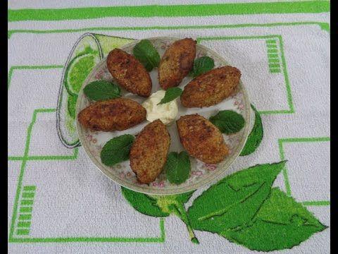 Kibe de frango -kibbeh /chicken kibe/chicken croquettes