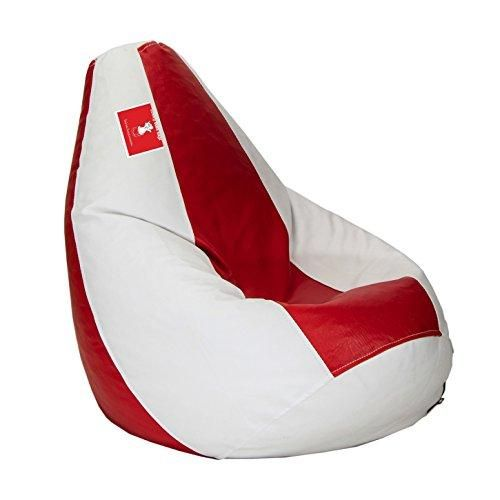 Groovy Comfy Bean Bags Xxl Bean Bag Filled With Beans Filler Red Creativecarmelina Interior Chair Design Creativecarmelinacom