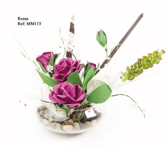 Rosas - Revista Manos Maravillosas Fofuchas 5