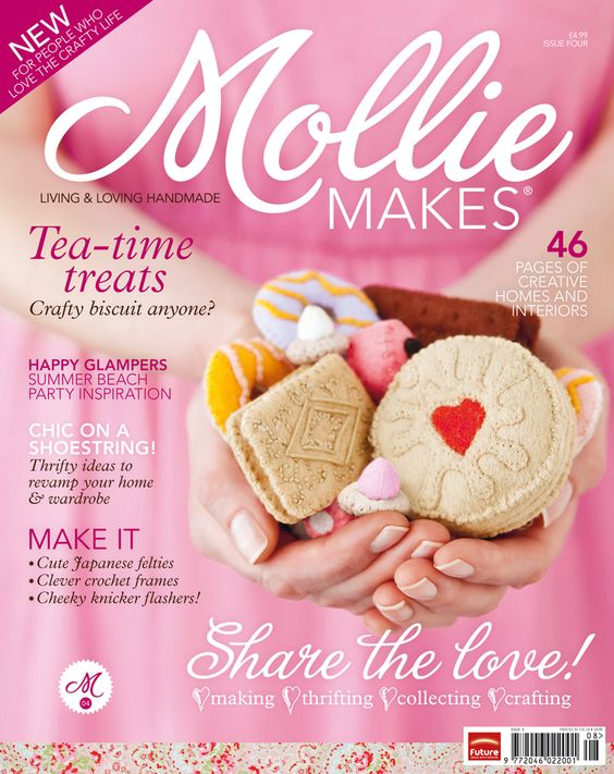 Download Mollie Makes issue 4 templates