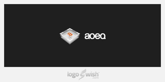 logo inspiration gallery: Aoeq by Cris Labno