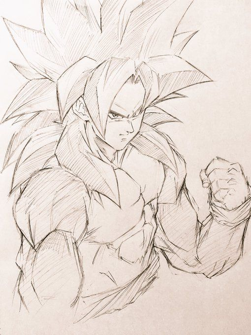 Twitter Goku Drawing Dragon Ball Sketches