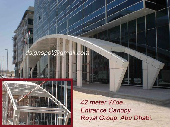 Steel + ceramic - Royal Group - Abu Dhabi | Canopy | Pinterest | Canopy Building and Commercial architecture & Steel + ceramic - Royal Group - Abu Dhabi | Canopy | Pinterest ...