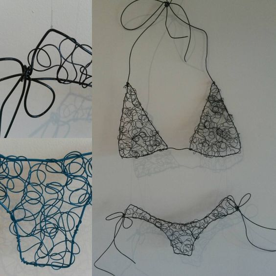 Get your kini on !! #summertime #centralcoast #centralcoastartist #wiresculpture #art #artist #summer #beach #bikini #swimming #beachlife #beachart #coastal #swimmers #cossie  #wireart #wireartist #wallart #Australian  #artforsale #artforsalebyartist #uminabeachmarkets#coastalchicau