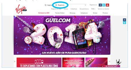 ¿Cómo me registro en la página? - Virgin Mobile Colombia