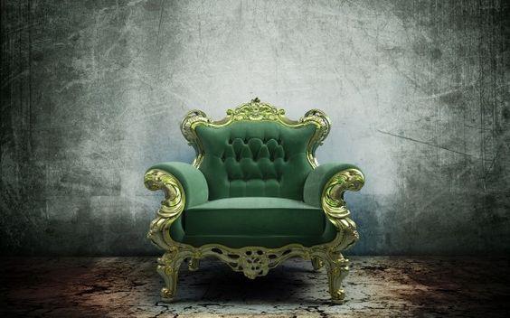 Glamorous Green Chair Wallpaper Green Chair Green Armchair Chair Photography