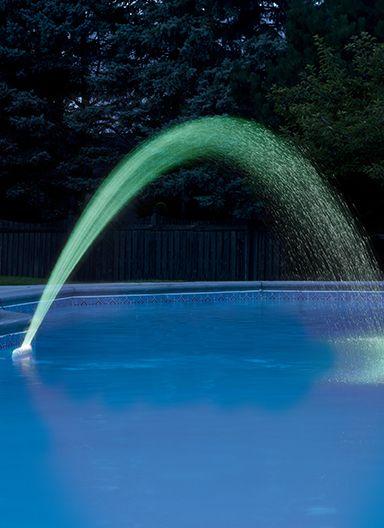 i-Fountain Illuminated Pool Fountain