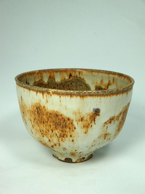 Stoney Matte Gold Luster Bowl 1 by olialamar1