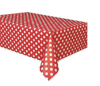 PARTY TABLEWARE PLASTIC TABLE COVER