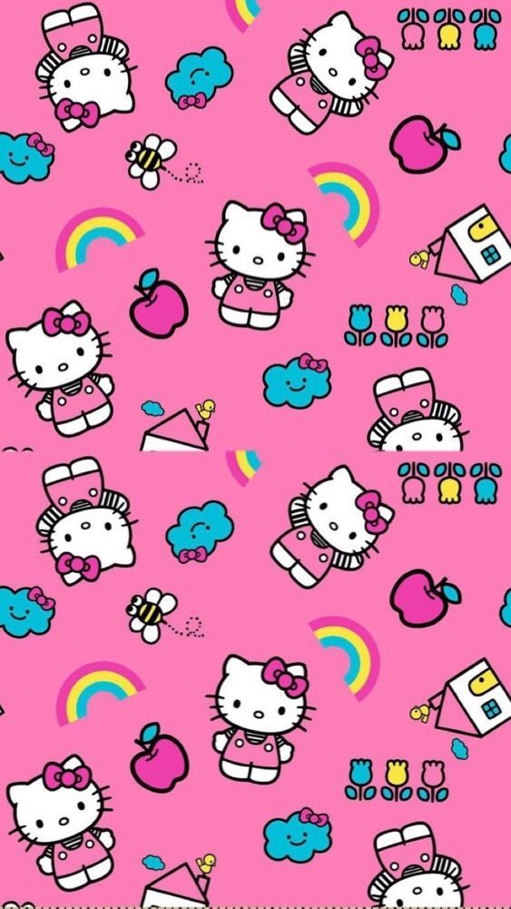 Wallpaper Pink Lucu Imut