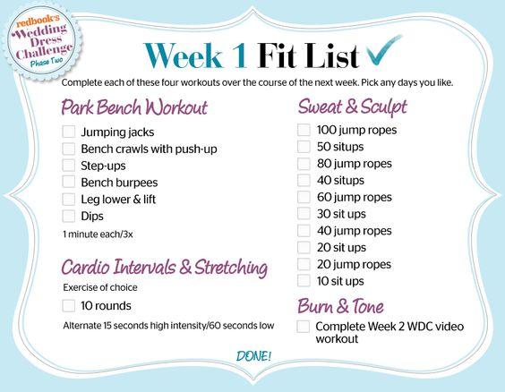 WDC Phase 2, Week 1 Fit list